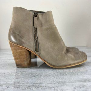 BP Ankle Boots with Zipper Detail
